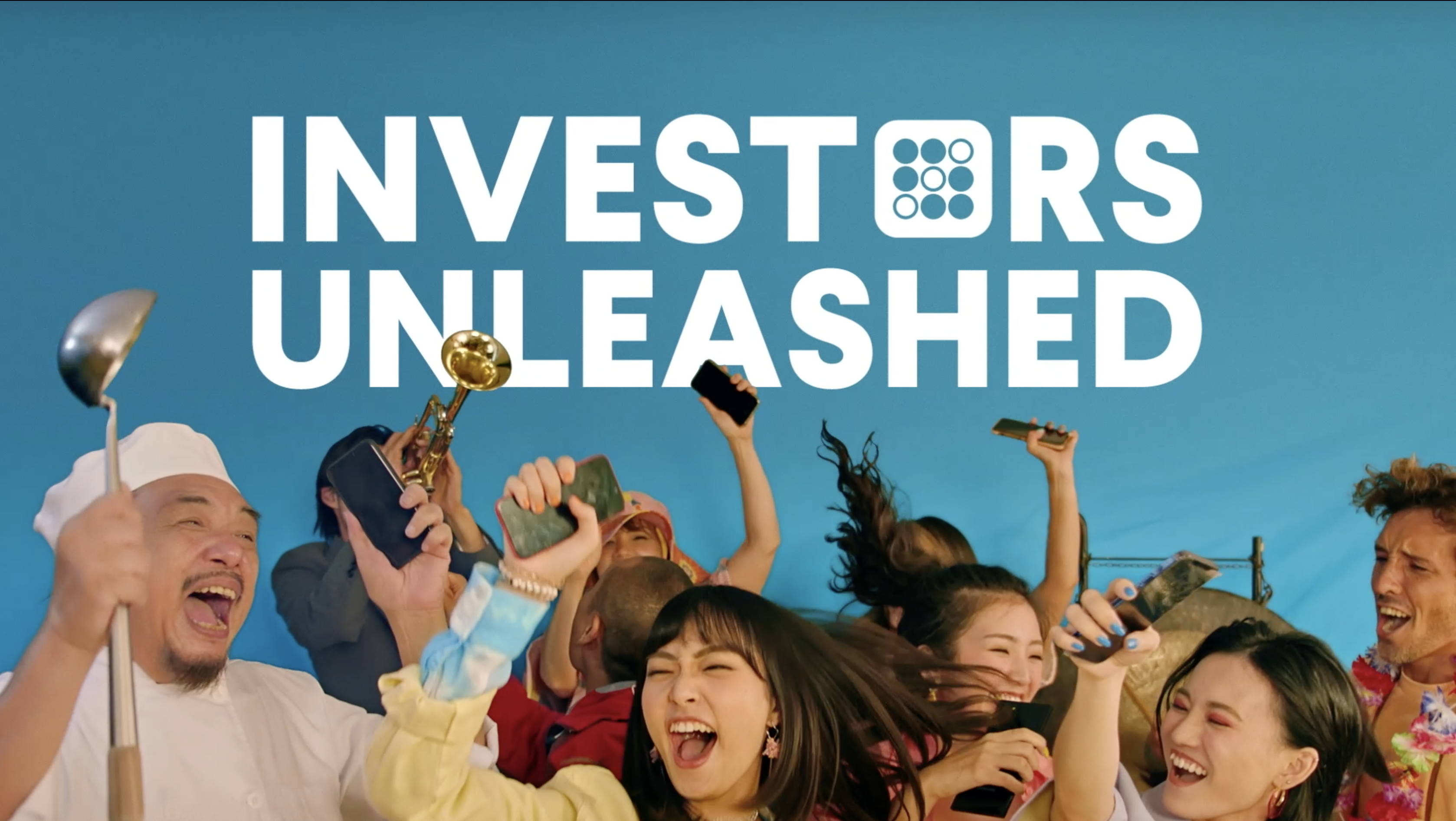 #InvestorsUnleashed – Our awesome new advertising campaign